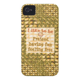 Affirmation STATEMENTS: Praise FUN Free - LOWPRICE Case-Mate iPhone 4 Cases