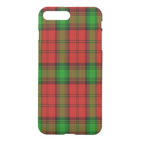Affleck Scottish Tartan iPhone 8 Plus/7 Plus Case