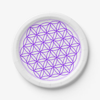 Affordable Disposable Flower Of Life for Gridding 7 Inch Paper Plate