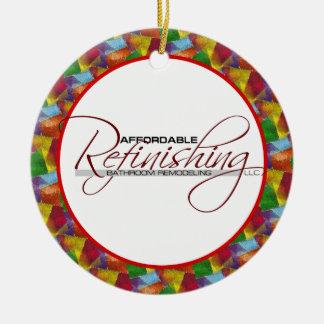 Affordable Refinishing Round Ceramic Ornament