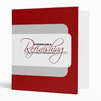 Affordable Refinishing Vinyl Binder