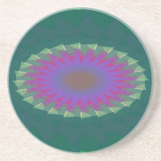 Affronted Fissure Pattern Coaster