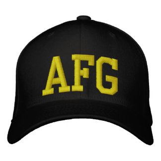 Afgahinstan Campaign Hat Army Embroidered Hats