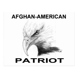 Afghan-American Patriot Postcard