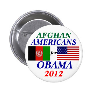 Afghan americans for Obama 2 Inch Round Button