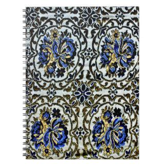 Afghan Bedcover Design Spiral Notebook