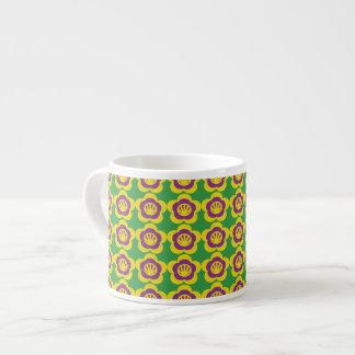 Afghan Floral Espresso Mug