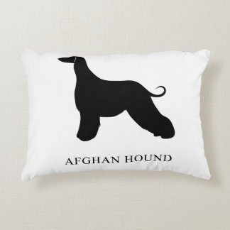 Afghan Hound Accent Pillow