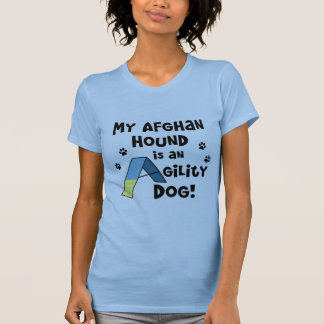 Afghan Hound Agility Dog Ladies Tank Top