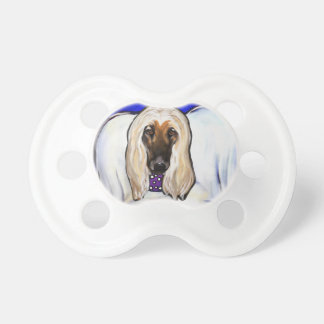 Afghan Hound Angel Pacifier