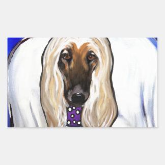 Afghan Hound Angel Sticker