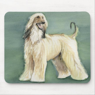 Afghan Hound Dog Art Mouse Pad