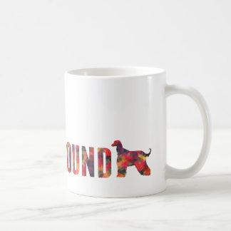 Afghan Hound Dog Colorful Graphic Multi Mug