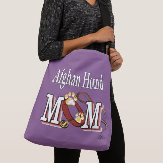 Afghan Hound Dog Mom Crossbody Bag