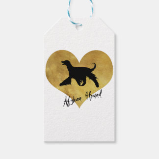 Afghan Hound Gift Tags