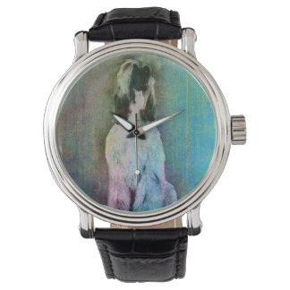 Afghan Hound  Sketch Paint Watch