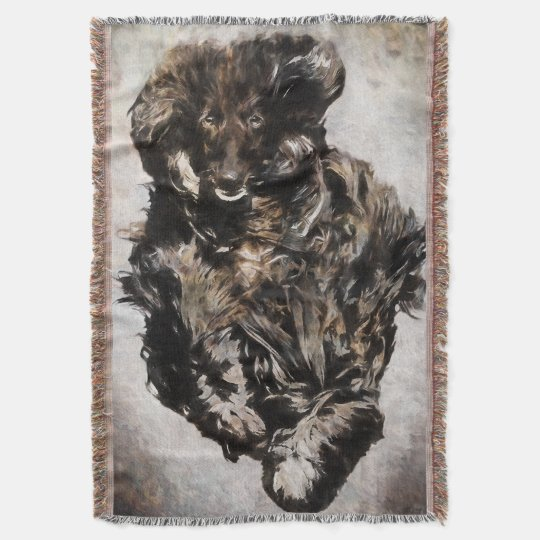 Afghan Hound Throw Blanket