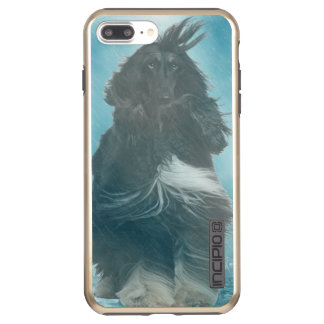 Afghan Hound Wind and Rain Blown Incipio DualPro Shine iPhone 8 Plus/7 Plus Case