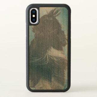 Afghan Hound Wind and Rain Blown iPhone X Case