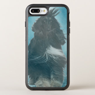 Afghan Hound Wind and Rain Blown OtterBox Symmetry iPhone 8 Plus/7 Plus Case