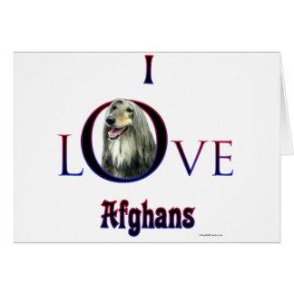 Afghan I Love Card