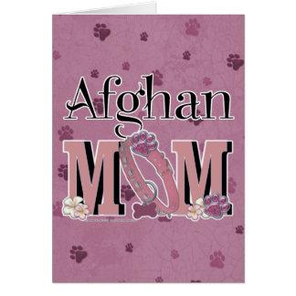 Afghan MOM Card