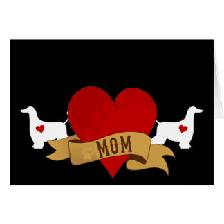 Afghan Mom [Tattoo style] Card