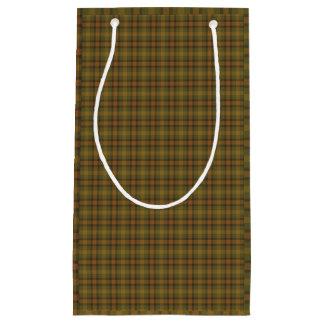 Afghan Plaid Small Gift Bag
