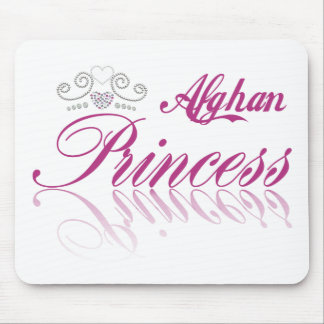 Afghan Princess Mouse Pad