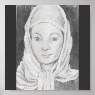 Afghan schoolgirl poster