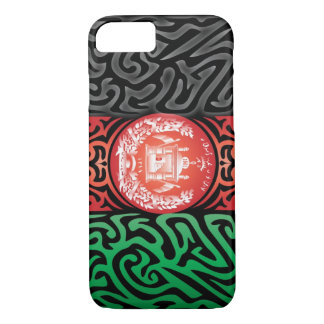 Afghanistan Abstract iPhone 7 Case