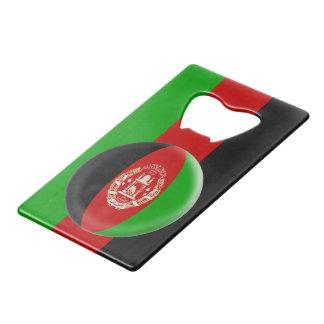 Afghanistan Afghanistani Flag Credit Card Bottle Opener
