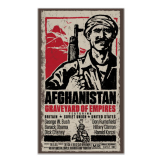 Afghanistan Anti-War Movie Poster