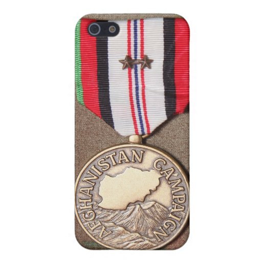 afghanistan campaign medal iPhone 5 case
