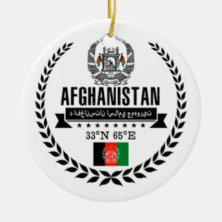 Afghanistan Ceramic Ornament