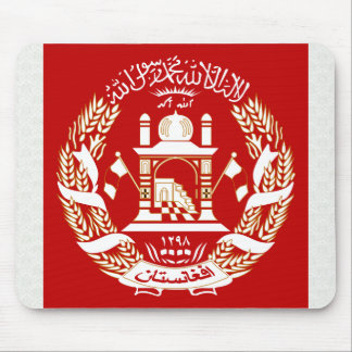 Afghanistan Coat of Arms detail Mouse Pad