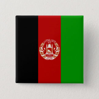 Afghanistan Flag 2 Inch Square Button
