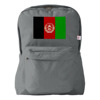 Afghanistan Flag Backpack