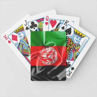 Afghanistan Flag Bicycle Playing Cards