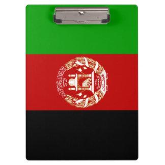Afghanistan Flag Clipboard