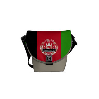 Afghanistan Flag Courier Bags