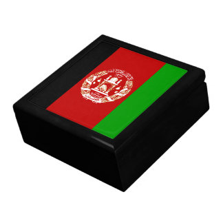 Afghanistan Flag Gift Box