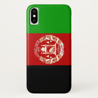 Afghanistan Flag iPhone X Case