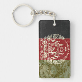 Afghanistan Flag Key Chain Souvenir