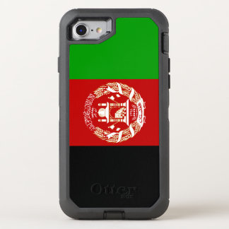 Afghanistan Flag OtterBox Defender iPhone 8/7 Case