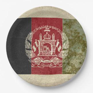 Afghanistan Flag Paper Plates