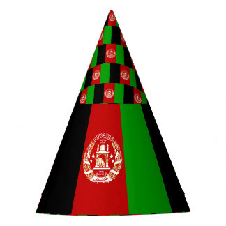 Afghanistan Flag Party Hat