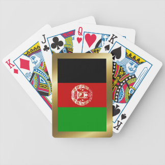 Afghanistan Flag Playing Cards