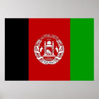 Afghanistan Flag Poster