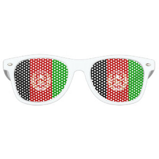 Afghanistan Flag Retro Sunglasses